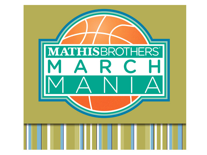 Mathis Brothers March Mania Logo