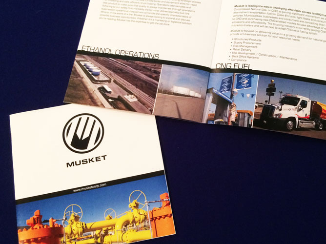 Musket Promotional Booklet
