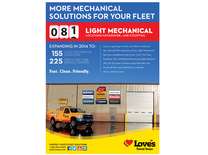 By The Numbers Ad - Light Mechanical Services