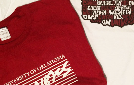 University of Oklahoma T-Shirts
