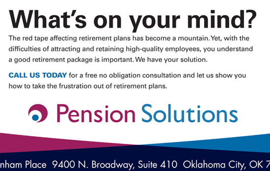 Pension Solutions Advertisement