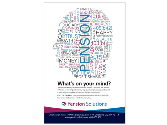Pension Solutions Advertisment